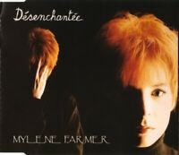 CD MAXI SINGLE MYLENE FARMER DESENCHANTEE EDITION FRANCE RARE COLLECTOR 1991