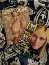 MADONNA,July 1987 Cosmopolitan, Feb 2001 Elle, Fashion, Superstar,
