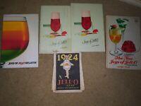 Vintage Jello Cookbooks Joys of Jello New Joys of Jello Gelatin Dessert Recipe