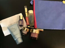 ESTEE LAUDER travel set- Eye cream+lotion+cleanser+serum+Lipsgloss+bag