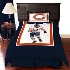 NFL Biggshots Chicago Bears Brian Urlacher Bedding Comforter SET Twin