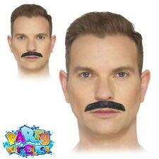 Sideburns /& Moustache Set ~ Biker ~ 70s ~ 80s ~ False Facial Hair Kit