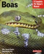 Barron's Boas - A Complete Pet Owner's Manual