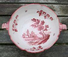 Schüssel Castelli Kreiser ceramica Italy Majolika Keramik gemalt italien 373 B.