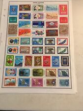 Collection Of Un All Mint Some Pages Inscription Blocks Includes 2012 Sports E47