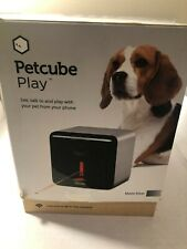 PETCUBE Play Indoor 1080p Wi-Fi Camera Matte Silver - FOR PARTS - FAST FREE SHIP