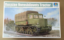TRUMPETER 01573 - RUSSIAN VOROSHILOVETS TRACTOR - NUOVO