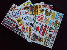 Wholesale 5 Sheets Motor Sport Decals - Stickers Motorcycle Motocross Toolbox