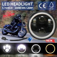 "1X 5.75"" LED Motorcycle Headlight For Harley Street XG500 Dyna"