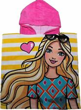 Barbie and Friends photoshot Stripe Childrens Hooded Poncho by besttrend