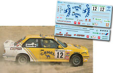 Decal 1:43 Fernando Capdevila - BMW M3 - Rally El Corte Ingles 1988