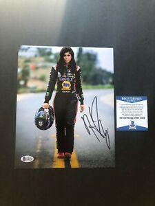 Hailie Deegan Hot! signed autographed Nascar SRX 8x10 photo Beckett BAS coa
