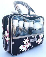 Keneth Cole frontal ventana pequeña bolsa Weekender con Accesorios-Nuevo