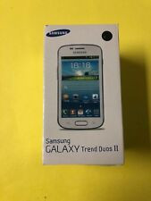 Samsung Galaxy S Duos Trend II 2 GT-s7572 (UNLOCKED) Dual Sim - NEW Sealed