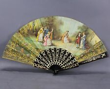 Eventail ancien  Ventaglio antico / Abanico antiguo  / facher /lace fan