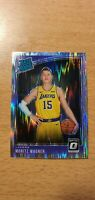 2018-19 Optic MORITZ WAGNER Rated Rookie Shock Prizm RC Card Lakers