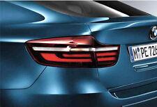Genuine BMW OEM Black Line Tail Lights Set - X6 E71 2008-14 SAV SUV 63212337552
