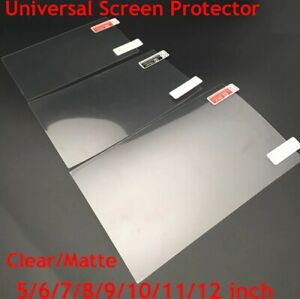 5Pcs Universal Screen Protector Clear Film Mobile Tablet 5 6 7 8 9 10 11 12 Inch