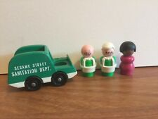 Vintage Fisher Price Sesame Street Apartment house Accessories
