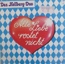"""7"""" RARE IN MINT- ! HELLBERG DUO Alte Liebe rostet nicht"""