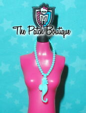 MONSTER HIGH LAGOONA BLUE DISEMBODY COUNCIL DOLL REPLACEMENT SEAHORSE NECKLACE