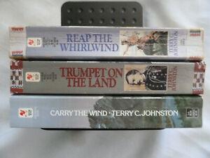 THREE (3) TERRY C. JOHNSTON paperbacks