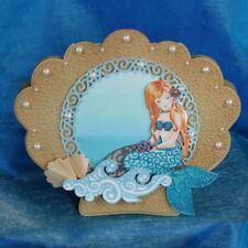 Mermaid Metal Die Cutting Dies Stencil For Scrapbooking Album Paper Card Decor