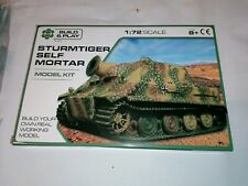 Sturmtiger Self Mortar  Tank Model Kit Scale 1:72 Build & Play NEW