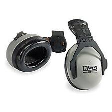 MSA Ear Muffs,Hard Hat Mounted,NRR 27dB, 10061272