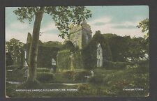 POSTCARD MUCKRUSS ABBEY KILLARNEY CO. KERRY Chas L Reis & Co - UNUSED - EARLY
