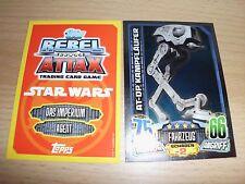 Topps Star Wars Rebel Attax1,1 Spiegelfolienkarte  Nr.152 ,rot/gelb
