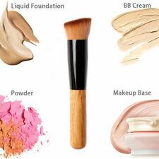 Makeup Foundation Brush Flat Angled Head Liquid Powder BB Cream Contour Brush