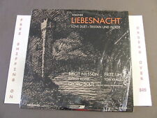 WAGNER LIEBESNACHT TRISTAN AND ISOLDE, NILSSON, UHL, SOLTI LP MONO 5938