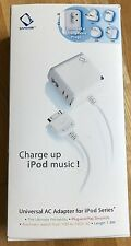 CAPDASE Universal AC Adapter for iPod Series - inc 4 changeable plugs. Boxed.