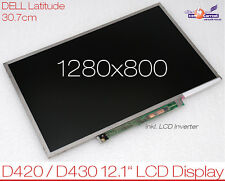 "30.7CM 12.1"" WIDE WXGA LCD AU OPTRONICS B121EW03 DISPLAY DELL LATITUDE D420 D430"