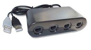 4-port Nintendo Switch GameCube Wii U PC to Controller Gamepad Converter Adapter