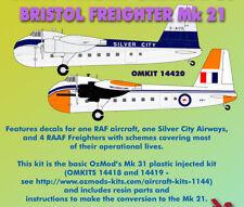 Ozmods Models 1/144 RAF/RAAF/Silver City Bristol Freighter Mk 21