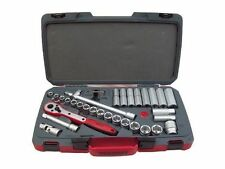 TENG TOOLS 1/2 DRIVE SOCKET RATCHET TOOL SET 34 PIECE + CASE