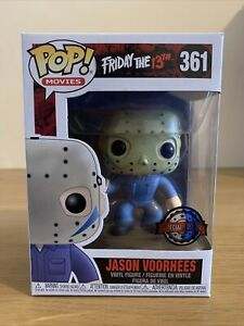 POP FUNKO VINYL. JASON VOORHEES 361. FRIDAY THE 13TH SPECIAL EXCLUSIVE EDITION.