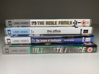 Bundle Job Lot x4 Sony PSP UMD Video Boxed THE OFFICE LEAGUE OF GENTLEMEN