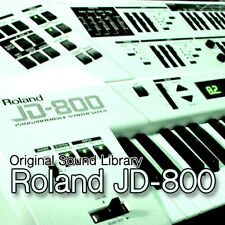 for Roland JD-800 - unique original WAV/Kontakt Multi-Layer Samples Library DVD