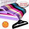 Wholesale Flocked Non Slip Velvet Clothes Hangers Suit/Shirt/Pants Hangers Lot