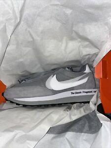 Nike LD Waffle x Sacai x Fragment Light Smoke Grey DH2684-001 Mens 11.5