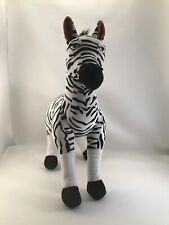 Zebra Disney Store Exclusive Plush Stuffed Toy Lion King GUC African Pridelands.