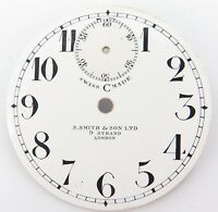 RARE 1800's S SMITH & SON, LONDON WITH TOP SUNKEN SECONDS POCKET WATCH DIAL.