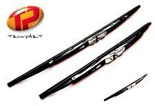Front & Rear Windscreen Wiper Blades By Trupart Fit Nissan Juke 2010 on (PE1094)