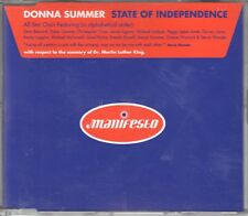 Donna Summer  CD-SINGLE  STATE OF INDEPENDENCE  (c)  1996  MIXE