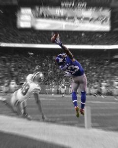New York Giants ODELL BECKHAM JR Glossy 8x10 Photo Print Spotlight Motion Poster