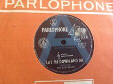 "THE EASYBEATS A RADIO STATION PROMO LAY ME DOWN AND DIE 45 7"" ALBERT PRODUCTIONS"