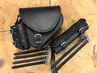 Schwingentaschen Set Komplettpaket Seitentasche DIABLO BLACK schwarz Harley HD
